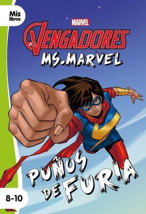 LOS VENGADORES. MS MARVEL: PUÑOS FUERA