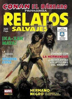 LA ESPADA SALVAJE DE CONAN: RELATOS SALVAJES (MARVEL LIMITED EDITION)