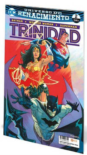 BATMAN / WONDER WOMAN / SUPERMAN: TRINIDAD. RENACIMIENTO #02