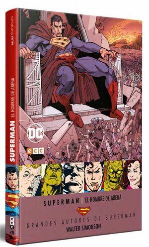 GRANDES AUTORES DE SUPERMAN: WALTER SIMONSON – EL HOMBRE DE ARENA
