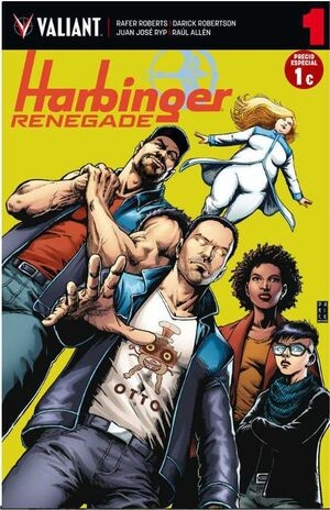 HARBINGER RENEGADE #01