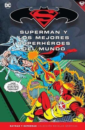 COLECCIONABLE BATMAN Y SUPERMAN #43. SUPERMAN Y LOS SUPERHEROES DEL MUNDO