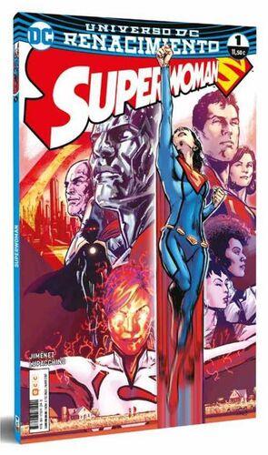 SUPERWOMAN #01. RENACIMIENTO