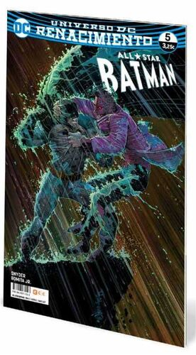 ALL-STAR BATMAN #05 UNIVERSO DC RENACIMIENTO