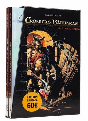 COFRE CRONICAS BARBARAS. COLECCION COMPLETA