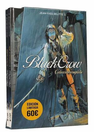 COFRE BLACK CROW. COLECCION COMPLETA