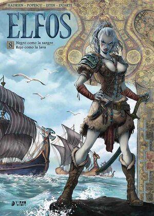 ELFOS #08. ROJO COMO LA SANGRE / ROJO COMO LA LAVA