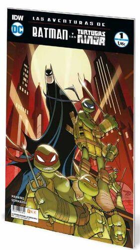 LAS AVENTURAS DE BATMAN Y LAS TORTUGAS NINJA #01