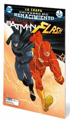 BATMAN / FLASH: LA CHAPA #01 (GRAPA)