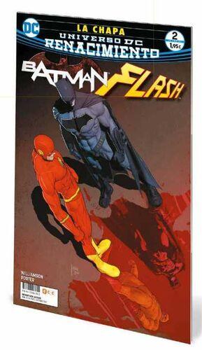 BATMAN / FLASH: LA CHAPA #02 (GRAPA)