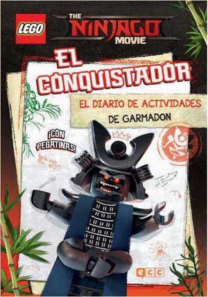 THE LEGO NINJAGO MOVIE: EL CONQUISTADOR - DIARIO DE ACTIVIDADES DE GARMADON
