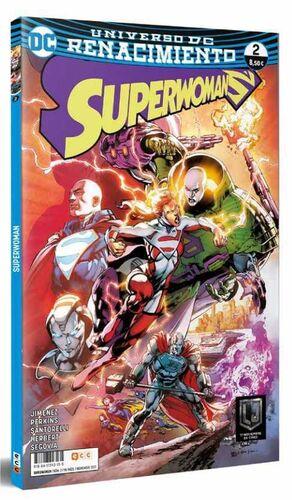 SUPERWOMAN #02. RENACIMIENTO