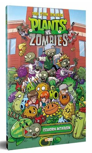 PLANTS VS ZOMBIES: ESCUADRON ANTIABUSON