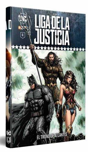 LIGA DE LA JUSTICIA COLECCIONABLE SEMANAL #04. EL TRONO DE ATLANTIS