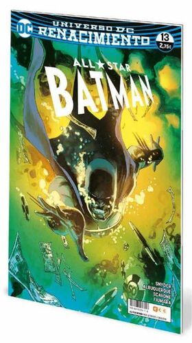 ALL-STAR BATMAN #13 UNIVERSO DC RENACIMIENTO