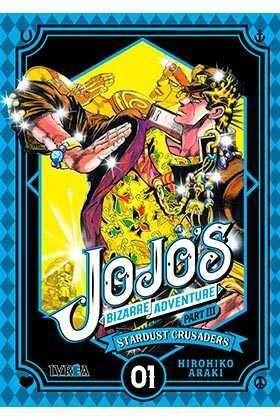 JOJO'S BIZARRE ADVENTURE PARTE 03. STARDUST CRUSADERS #01