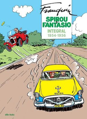 SPIROU Y FANTASIO INTEGRAL #04. 1954-1956