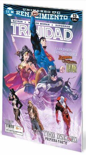 BATMAN / WONDER WOMAN / SUPERMAN: TRINIDAD. RENACIMIENTO #13