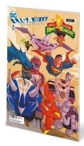 LIGA DE LA JUSTICIA / POWER RANGERS #06