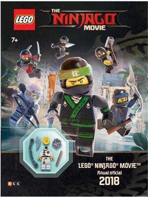 THE LEGO NINJAGO MOVIE: ANUAL OFICIAL 2018