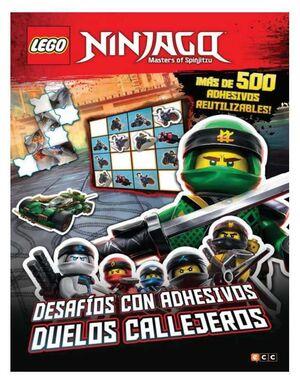 LEGO NINJAGO. DESAFIOS CON ADHESIVOS: DUELOS CALLEJEROS