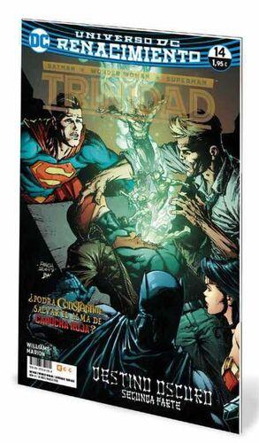 BATMAN / WONDER WOMAN / SUPERMAN: TRINIDAD. RENACIMIENTO #14