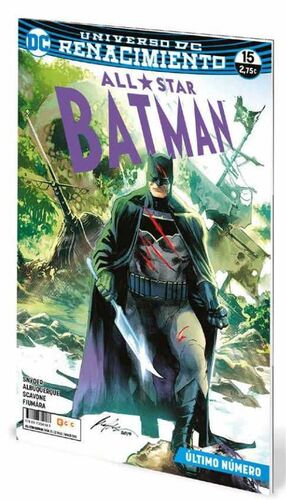 ALL-STAR BATMAN #15 UNIVERSO DC RENACIMIENTO