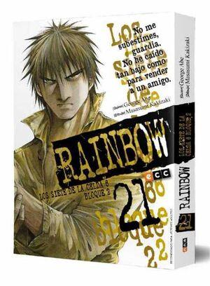 RAINBOW LOS SIETE DE LA CELDA 6 BLOQUE 2 #21