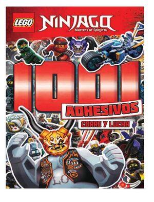 LEGO NINJAGO. 1001 ADHESIVOS: CORRE Y LUCHA