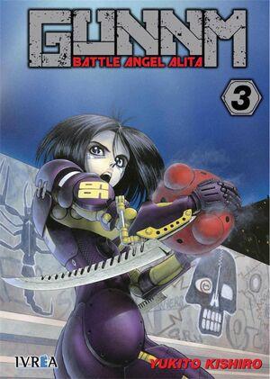 GUNNM: BATTLE ANGEL ALITA #03