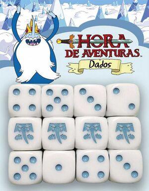 HORA DE AVENTURAS JDR DADOS REY HIELO