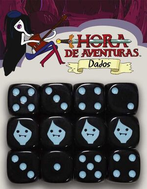 HORA DE AVENTURAS JDR DADOS MARCELINE