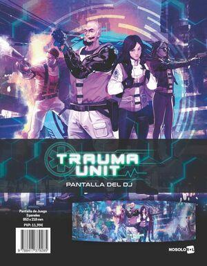 TRAUMA UNIT JDR PANTALLA DEL DJ