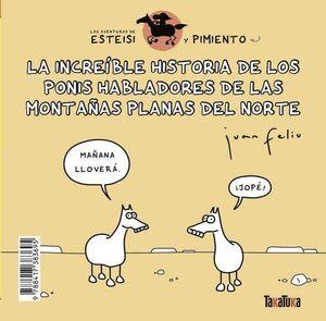 LAS AVENTURAS DE ESTEISI Y PIMIENTO #03. HISTORIA DE LOS PONIS HABLADORES