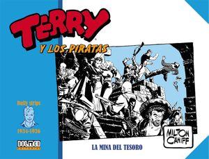 TERRY Y LOS PIRATAS: 1934-1936. LA MINA DEL TESORO