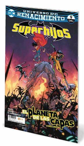 SUPERHIJOS #09 RENACIMIENTO. EL PLANETA DE LAS CAPAS - CONCLUSION