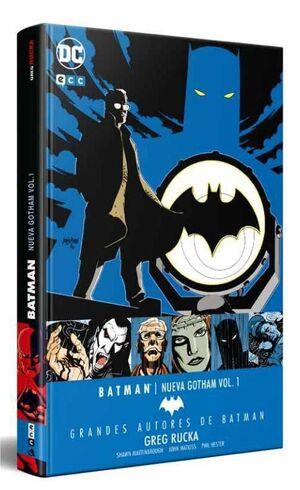GRANDES AUTORES DE BATMAN: GREG RUCKA – BATMAN. NUEVA GOTHAM VOL. 1