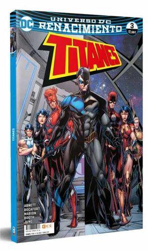 TITANES #03 RENACIMIENTO (RTCA-ECC)