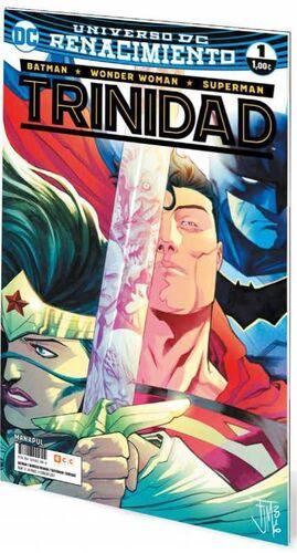 BATMAN / WONDER WOMAN / SUPERMAN: TRINIDAD. RENACIMIENTO #01