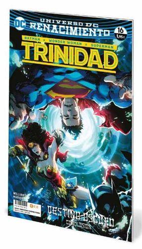 BATMAN / WONDER WOMAN / SUPERMAN: TRINIDAD. RENACIMIENTO #16