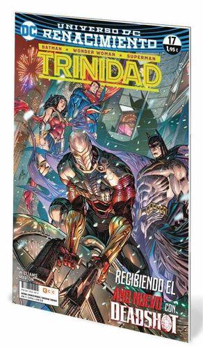 BATMAN / WONDER WOMAN / SUPERMAN: TRINIDAD. RENACIMIENTO #17