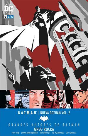 GRANDES AUTORES DE BATMAN: GREG RUCKA – BATMAN. NUEVA GOTHAM VOL. 2