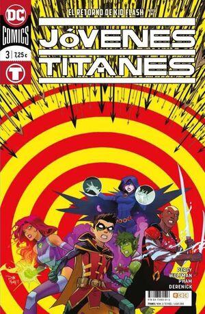JOVENES TITANES #003. RENACIMIENTO (ECC - RTCA)