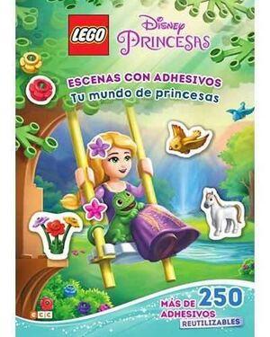 LEGO DISNEY PRINCESAS. ESCENAS CON ADHESIVOS: TU MUNDO DE PRINCESAS