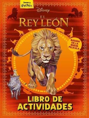 EL REY LEON. LIBRO DE ACTIVIDADES