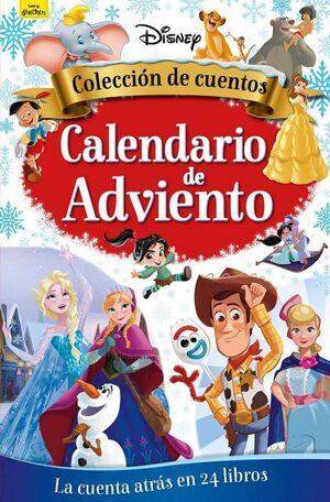CALENDARIO DE ADVIENTO DISNEY. COLECCION DE CUENTOS