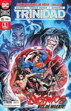 BATMAN / WONDER WOMAN / SUPERMAN: TRINIDAD. RENACIMIENTO #20
