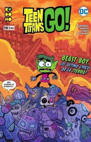TEEN TITANS GO! #19 (GRAPA ECC)