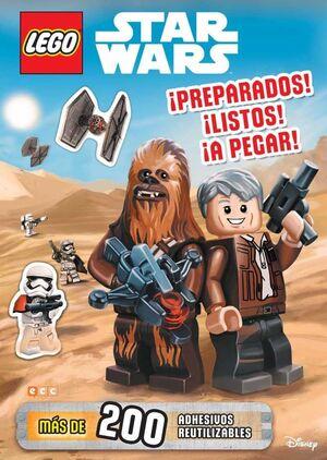 LEGO STAR WARS. PREPARADOS! LISTOS! A PEGAR!