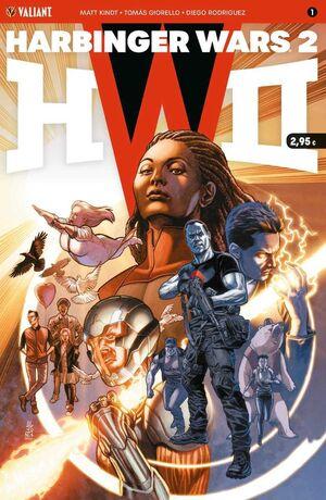 HARBINGER WARS 2 #01 (GRAPA)